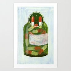 do not forget to take your pills Art Print