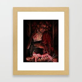The End of Emptiness Part III Framed Art Print
