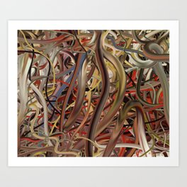 Wired #13 (2006) Art Print