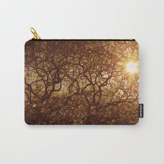 Shining through the trees Carry-All Pouch