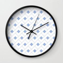 Geometric Serenity  Wall Clock