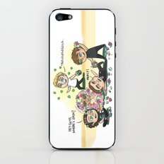 Flower Fight iPhone & iPod Skin