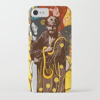 gustav klimt iPhone & iPod Cases featuring Klimt  by Nicolae Negura