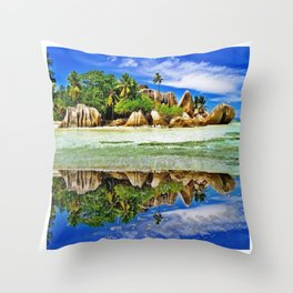 The Colos of Nature 2 Throw Pillow
