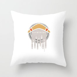 Boomerang Athletic Competitive Sports Wind Game Athletes Gifts Throw Pillow