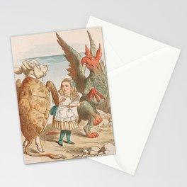 Scene from Alice in Wonderland Stationery Cards