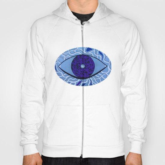 Human eye Hoody