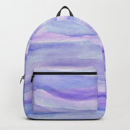 Ultra Violet Watercolor Layers Backpack