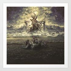 Rejected Gods Art Print