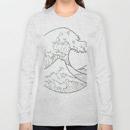 The wave of Kanagawa Long Sleeve T-shirt