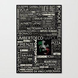 ITALIA Mia... Canvas Print