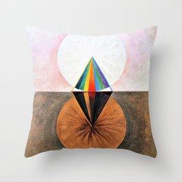 Hilma af Klint - The Swan, No.12, Group IX/SUW - Digital Remastered Edition Throw Pillow