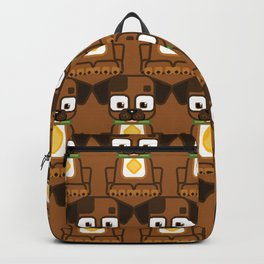 Super cute animals - Cute Brown Puppy Dog Backpack