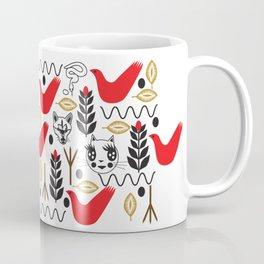 Peace Fashionista Cats Coffee Mug