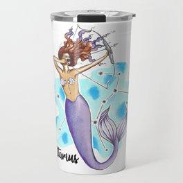 Sagittarius Mermaid Travel Mug