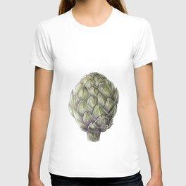 Artichoke Illustration T-shirt