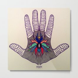 Hand Of Happiness  Metal Print