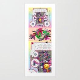 sampler Art Print
