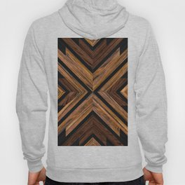 Urban Tribal Pattern 3 - Wood Hoody