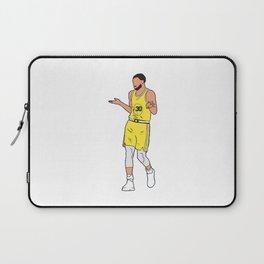 Steph Curry Shrug Laptop Sleeve