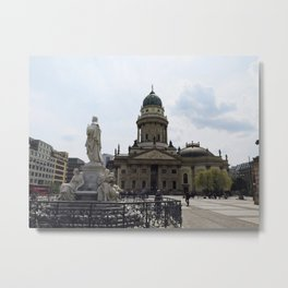 Berlin Sculpture Metal Print