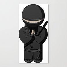 Ninja Bow Canvas Print