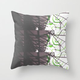 With Him Throw Pillow