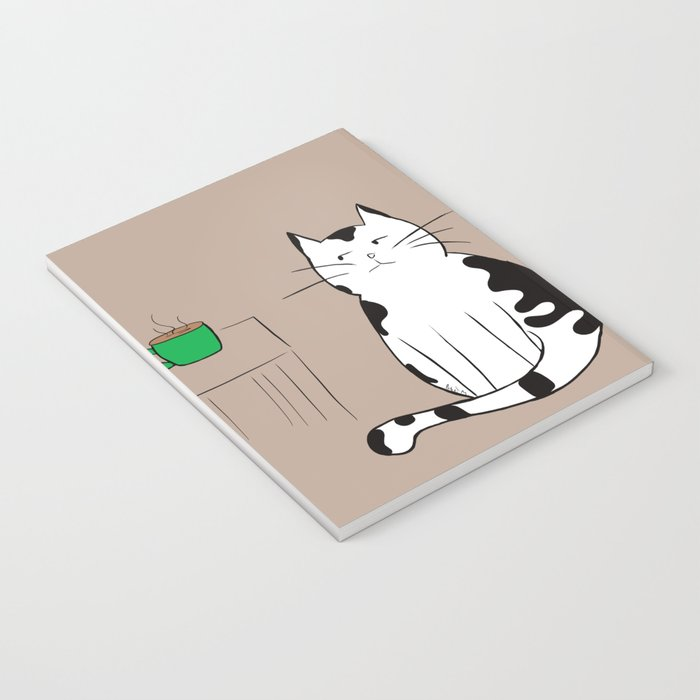 Java the Coffee Cat Notebook