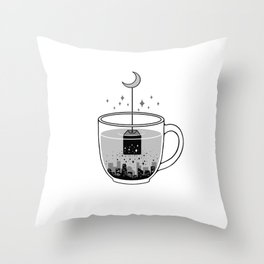 Please Brew Me a GoodNight Throw Pillow