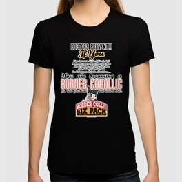 Border Cohollic T-shirt