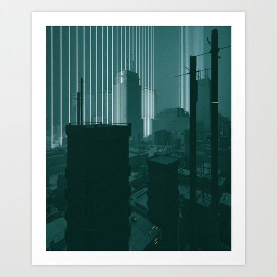 SQUARED (everyday 11.28.16) Art Print