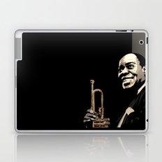 Louis Armstrong Laptop & iPad Skin