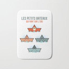 Les Petits Bateaux - Nautical Flags Edition Bath Mat