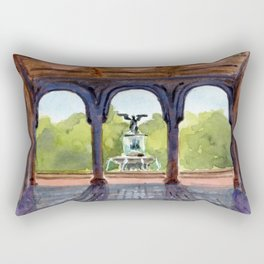 Bethesda Terrace Rectangular Pillow