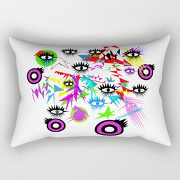 """Protection from the """"evil"""" eye Rectangular Pillow"""
