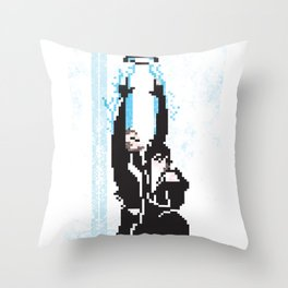 8 Bit Tron: Legacy Throw Pillow