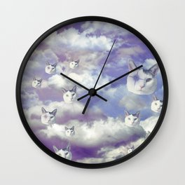 Sky Shemp Wall Clock