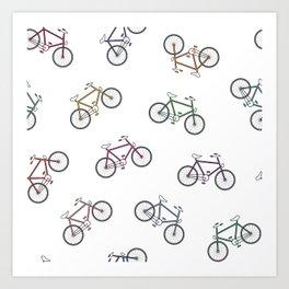 Hey That's My Bike! Art Print