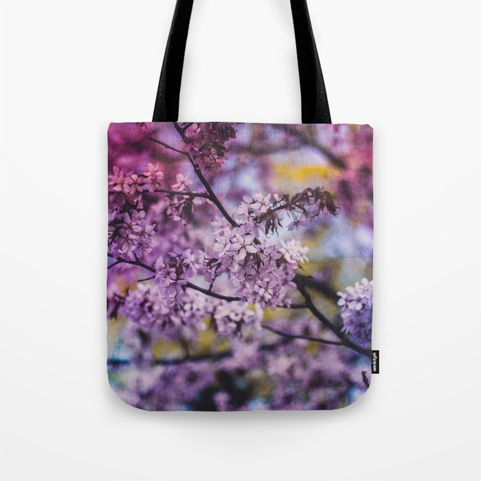 Spring Bloom Tote Bag
