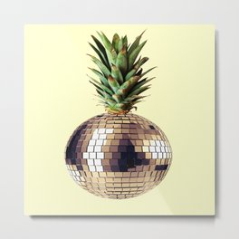 ananas party (pineapple) Metal Print