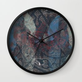 holidays in eden Wall Clock