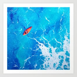 Kayak-Itti-Yak Art Print