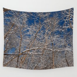 Susquehanna Winter Foliage Wall Tapestry