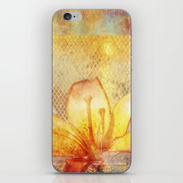 Fire Lily iPhone Skin