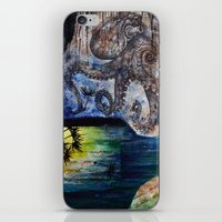 literary iPhone & iPod Skins featuring Literary Octopus by Sarah Sutherland