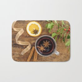 Mulled wine Bath Mat