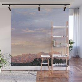 Sunset over Saddleback Mountain Wall Mural