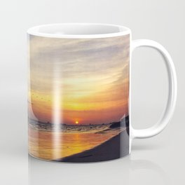 Pelican Fly By Coffee Mug