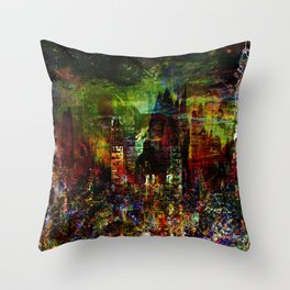 C-City X1-2 Throw Pillow