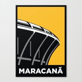 Maracana Stadium Canvas Print